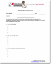 Employee Reward Worksheet